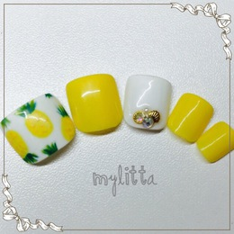 パイナップルネイル|Salon Mylitta -Nail-のネイル