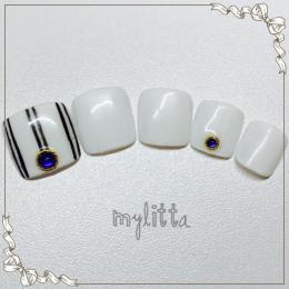 シンプルネイル♪|Salon Mylitta -Nail-のネイル