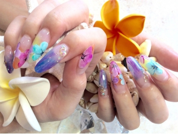 Plumeria By Lily's Nail