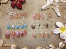  Plumeria By Lily's Nailのネイル
