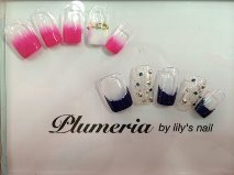 |Plumeria By Lily's Nailのネイル