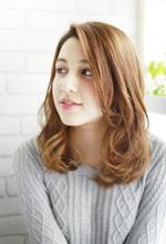 外人風ニュアンスパーマ|ZU-LU 新城店 土居 美保のヘアスタイル