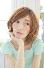 ルーズカールロブ★ ZU-LU 新城店 塩崎 彩香のヘアスタイル