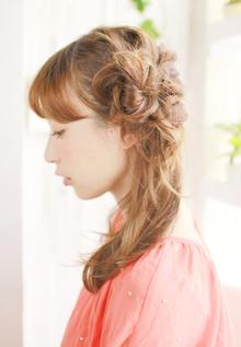 サイドダウンスタイル|ZU-LU 新城店のヘアスタイル