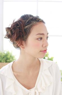 サイドアップ|ZU-LU 新城店のヘアスタイル