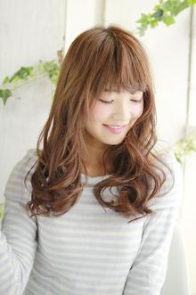 可愛いゆるカールスタイル|ZU-LU 新城店のヘアスタイル