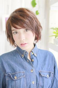ゆるふわショート|ZU-LU 新城店のヘアスタイル