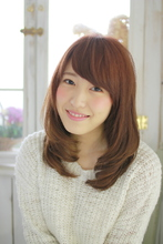 チュラルワンカールヘアー|ZU-LU 新丸子店 武田 勇真のヘアスタイル