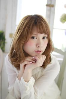 外ハネニュアンスカール☆|ZU-LU 新丸子店のヘアスタイル