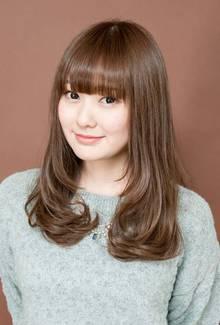 女性らしい柔らかウェーブ|ZU-LU 生田店のヘアスタイル