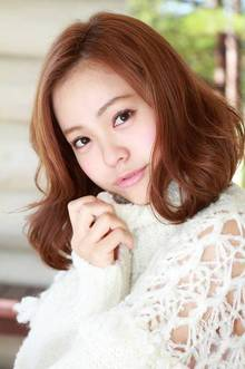 柔らかなリラクシーボブ|ZU-LU 生田店のヘアスタイル