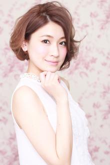 春先取りフェアリーボブ|ZU-LU 稲田堤店のヘアスタイル