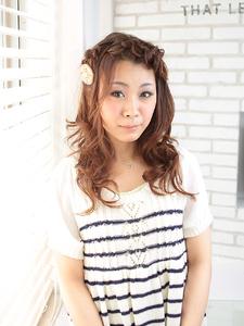 ゆるふわ愛されカール|ZU-LU 稲田堤店のヘアスタイル