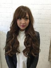 チョコブラウン|GROSS 心斎橋 山上 絋司のヘアスタイル