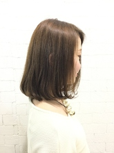 やわらかシフォンボブ|GROSS 心斎橋のヘアスタイル