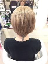 ホワイトベージュ☆|GROSS 心斎橋 山上 絋司のヘアスタイル