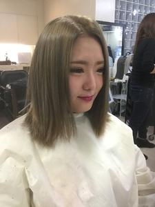 ブルーアッシュ☆|GROSS 心斎橋のヘアスタイル