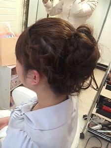 天使のあみこみアップ☆ GROSS 心斎橋のヘアスタイル