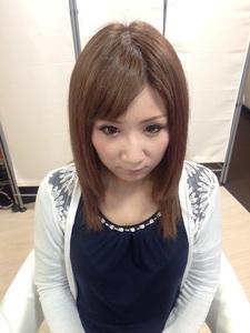 透明感たっぷりうるツヤアッシュ☆|GROSS 心斎橋のヘアスタイル