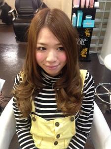 シフォンアッシュ☆|GROSS 心斎橋のヘアスタイル