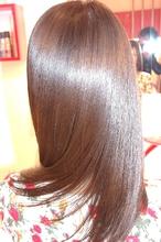超音波トリートメントで美しい潤ツヤストレートヘア|hair salon JOJOのヘアスタイル