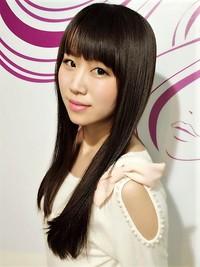 アイドルの美髪ナチュラルストレート