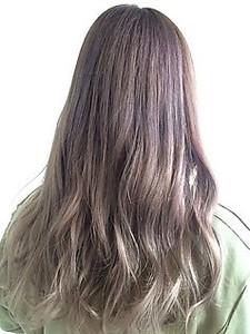 アクセントカラーグレージュスタイル|hair salon JOJOのヘアスタイル