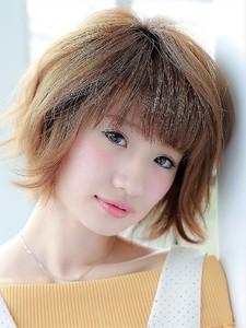 ジグザグバング×フリンジバング風マッシュヘア☆|hair salon JOJOのヘアスタイル