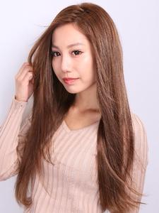 【After】カラー+シールエクステ80枚 3Dカラー|hair salon JOJOのヘアスタイル