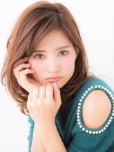 毛先ふんわり最新デジキュアパーマ|hair salon JOJOのヘアスタイル