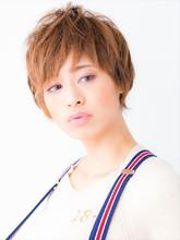 カジュアルショート ミニマムボブ モード|hair salon JOJOのヘアスタイル