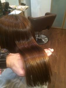 髪質改善矯正+アミノカラー|Doublewのヘアスタイル