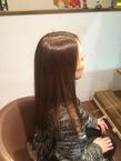 髪質改善矯正+アミノカラー