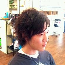 スパイラルパーマ|Doublew Wakky わっきーのメンズヘアスタイル