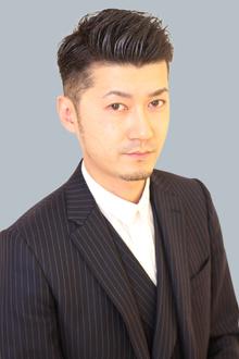 男らしい(30代〜40代にもに似合う)ショートスタイル|grandのヘアスタイル