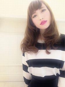 【外国人風】グランジスウェーブ☆|Leiaのヘアスタイル