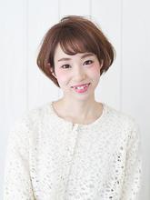 ミルキーカラーで柔らか☆ショートボブ|Le CASAのヘアスタイル