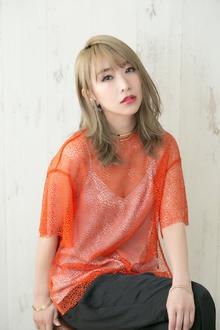 summer NUDE graige × 艶ミディ|Psycheのヘアスタイル