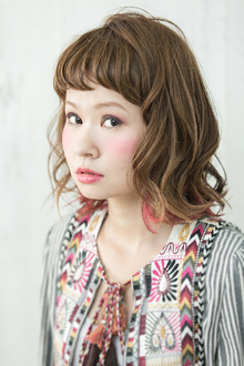 ash grege×pink high light★|Psycheのヘアスタイル