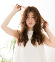 抜け感シナモンベージュ|la Loop Hair Designのヘアスタイル