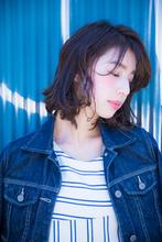 耳かけショートボブ|la Loop Hair Designのヘアスタイル