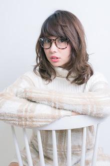 ミディアムスタイル|HIGUCHI Place <プレイス店>のヘアスタイル