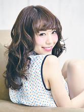 巻き髪ロング|felicita 北堀江のヘアスタイル