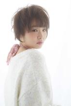 ☆可愛いほわほわとした質感ショート☆|LAVIERE by R-EVOLUT 武田 元気のヘアスタイル