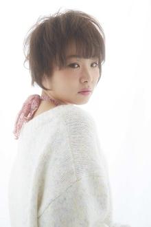 ☆可愛いほわほわとした質感ショート☆|LAVIERE by R-EVOLUTのヘアスタイル