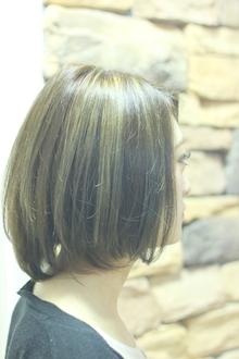 ☆外国人風ハイライトミディ☆|LAVIERE by R-EVOLUTのヘアスタイル