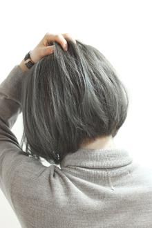 【LAVIERE】 ブルージュ ショートボブ 西村|LAVIERE by R-EVOLUTのヘアスタイル