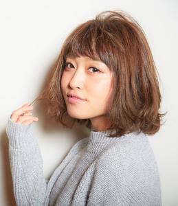 【LAVIERE】ニット×ボブ×ふわふわ 西村|LAVIERE by R-EVOLUTのヘアスタイル