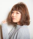 【LAVIERE】ニット×ボブ×ふわふわ 西村 LAVIERE by R-EVOLUTのヘアスタイル