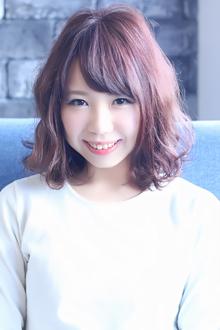 ☆コーラルピンクショート☆|LAVIERE by R-EVOLUTのヘアスタイル